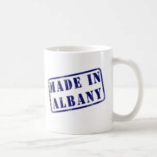 Made in Albany Basic White Mug