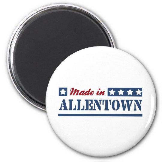 Made in Allentown 6 Cm Round Magnet