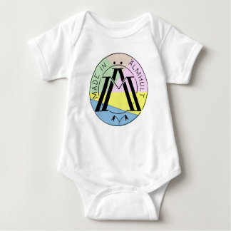 Made in Älmhult multi Baby Bodysuit