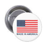 Made In America 6 Cm Round Badge