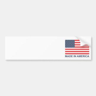 Made In America Bumper Sticker