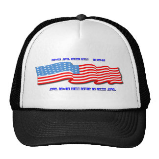 Made in America Mesh Hats