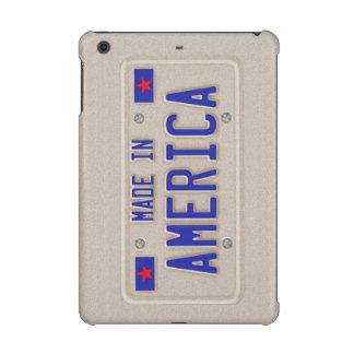 Made In America Car Licence Plate iPad Retina Case