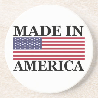 MADE IN AMERICA DRINK COASTER