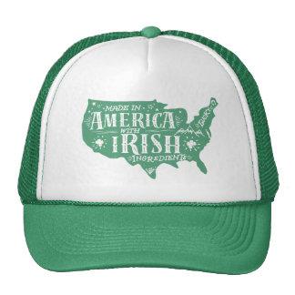 Made In America Irish Ingredients Baseball CAP