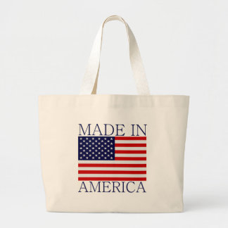 Made in America Large Tote Bag