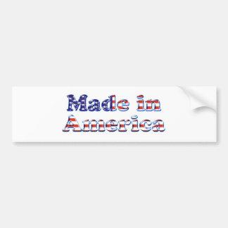 Made in America Logo Bumper Sticker