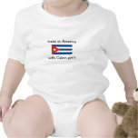 made in America with Cuban parts Bodysuit