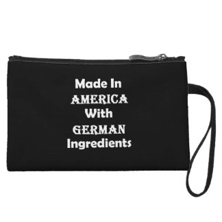 Made In America With German Ingredients Wristlet Clutch