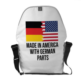 Made In America With German Parts Commuter Bag