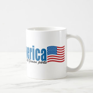 Made in America with German parts Basic White Mug