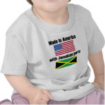 Made In America With Jamaican Parts Shirts