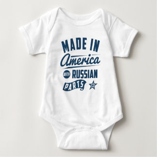 Made In America With Russian Parts Baby Bodysuit