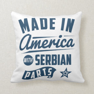 Made In America With Serbian Parts Cushion