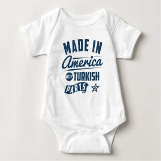 Made In America With Turkish Parts Baby Bodysuit