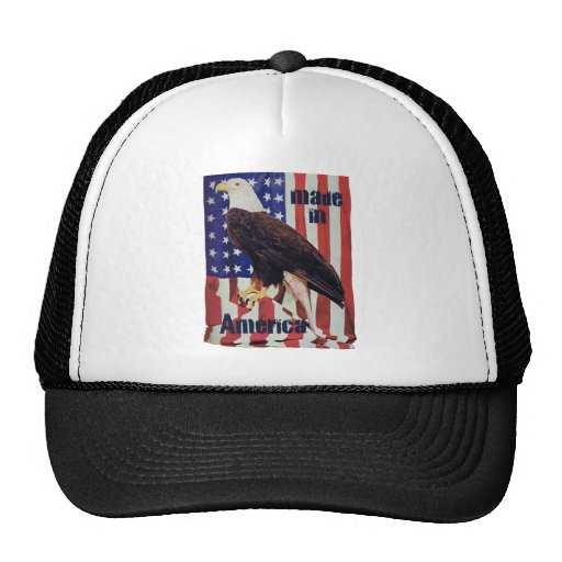 Made in American Bald Eagle Mesh Hat