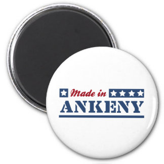 Made in Ankeny 6 Cm Round Magnet