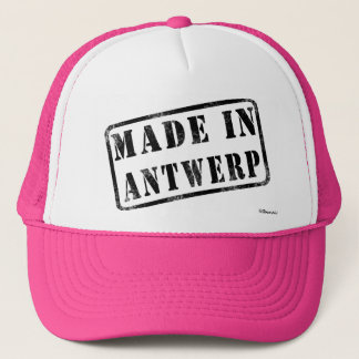 Made in Antwerp Trucker Hat