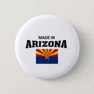 Made in Arizona 6 Cm Round Badge
