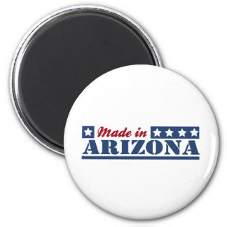 Made In Arizona 6 Cm Round Magnet