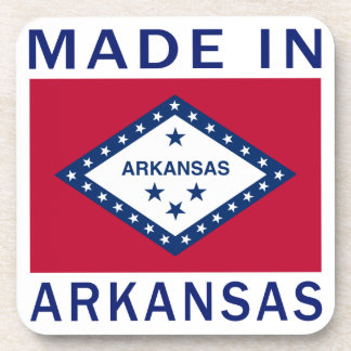Made In Arkansas Drink Coasters