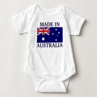 Made in Australia Baby Bodysuit
