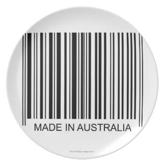 Made in Australia Party Plates