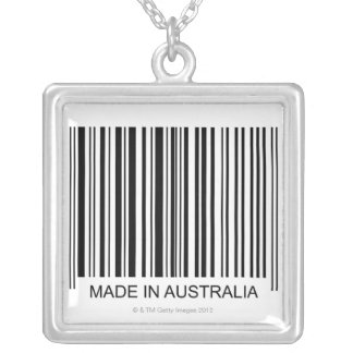 Made in Australia Silver Plated Necklace