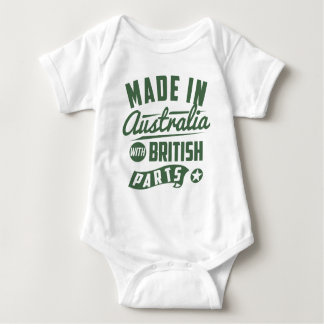 Made In Australia With British Parts T Shirts