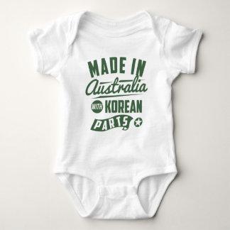 Made In Australia With Korean Parts Baby Bodysuit