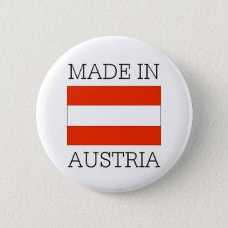 Made in austria 6 cm round badge