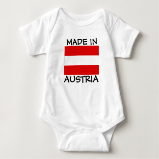Made in Austria baby bodysuit