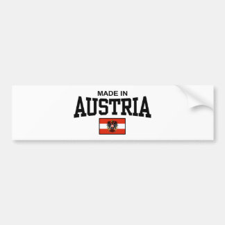 Made In Austria Bumper Sticker
