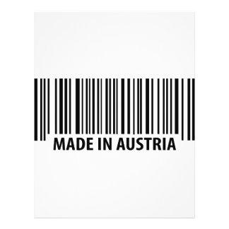 made in austria icon 21.5 cm x 28 cm flyer