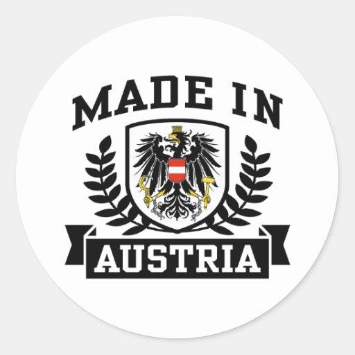 Made In Austria Sticker