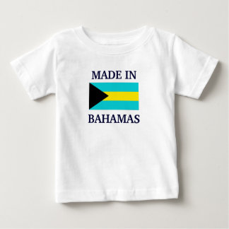 Made in Bahamas Baby T-Shirt
