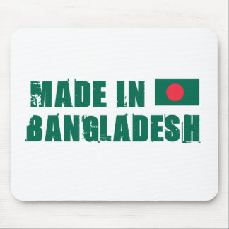 Made in Bangladesh Mouse Pad