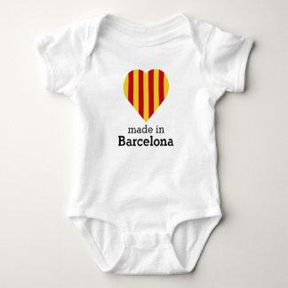 Made in Barcelona, La Senyera heart flag Catalonia Tee Shirts