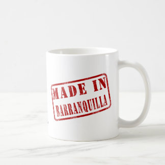 Made in Barranquilla Coffee Mug