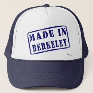 Made in Berkeley Trucker Hat