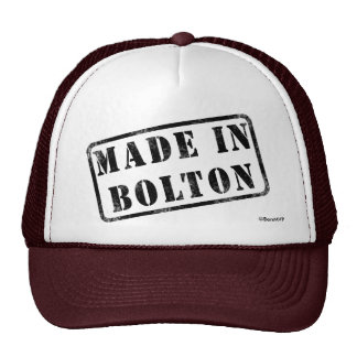 Made in Bolton Cap