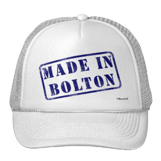 Made in Bolton Cap