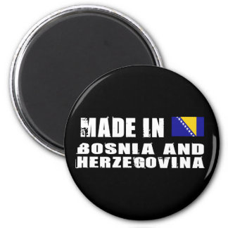 Made in Bosnia and Herzegovina 6 Cm Round Magnet