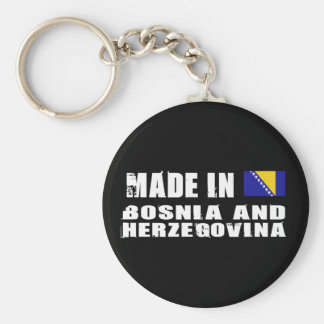 Made in Bosnia and Herzegovina Key Ring