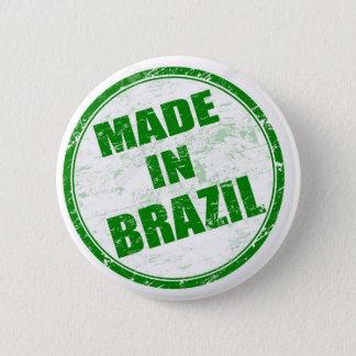 MADE IN BRAZIL 6 CM ROUND BADGE
