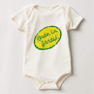 Made in Brazil - Gift for Brazilian New Born Baby Baby Bodysuit