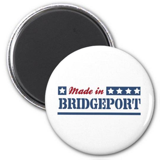Made in Bridgeport 6 Cm Round Magnet