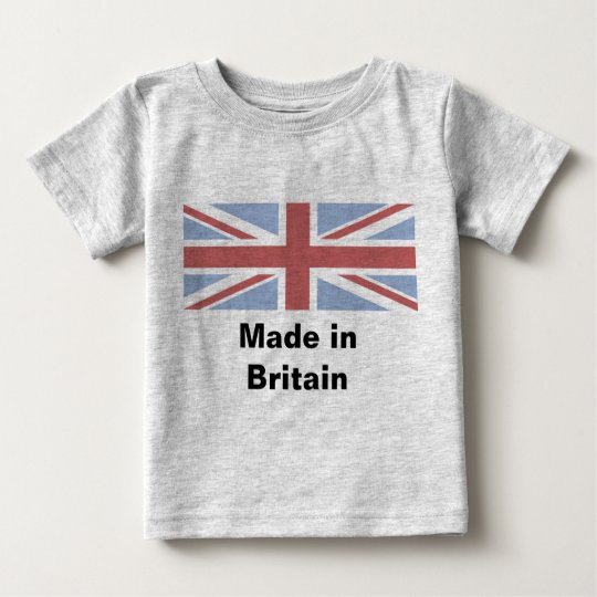 Made in Britain - baby vest Baby T-Shirt
