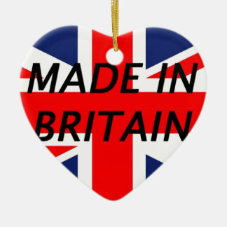 Made in Britain Christmas Tree Ornaments