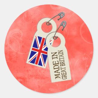 Made in Britain Sticker